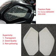 MTImport CBR 600RR trasparente antiscivolo serbatoio carburante Pad laterale Gas Grip Grip cuscinetti di trazione per Honda CBR600RR 2003 2004 2005 2006