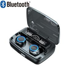 Tws Bluetooth Draadloze Hoofdtelefoon Sport Waterdichte Oordopjes Bluetooth 5 0 Oortelefoon Met Microfoons Touch Control Hifi Headsets cheap centechia In-Ear NONE Balanced Armature Cn (Oorsprong) wireless M11-1 V5 1 10m (free space) 2000 mAh Earbuds 2 *50mAh (with protective plate)