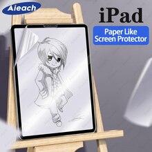 Бумага как Экран протектор для iPad Pro 11 10,5 12,9 9,7 рисунок матовая пленка для iPad 9,7 10,2 воздуха 1 2 3 iPad mini 4 5