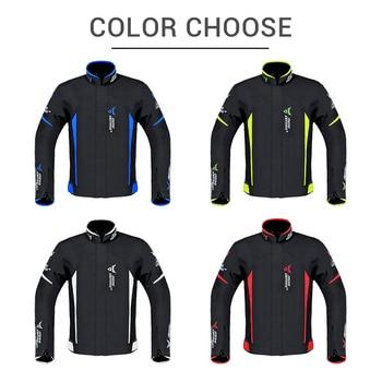 Waterproof Motorcycle Jacket Moto Jacket +Pants Riding Racing Motorbike Clothing Moto Suit for 4 Season 2