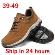 Plus Size 49 Men's Casual Shoes 47 Outdoor Tenis Masculino Adulto Non-slip Man Sneakers 46 Calzado Hombre Hiking Walking Shoe 48