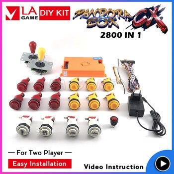 pandora box 9 pandora box cx 2800 games in 1 game board 2 player kit video instruction sanwa joystick happ buttons inside pandora s box