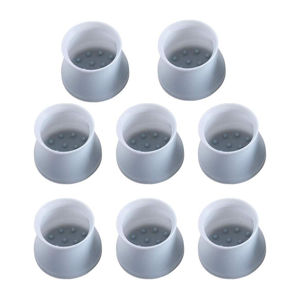 8/16 Pcs Furniture Table Chair Leg Cap Cover Thicken Leg Chair Silicone Table Floor Non-slip Protective Caps Wear-resistant X3H8