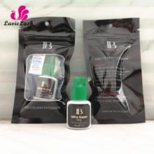 I beauty pegamento ultrafino IB para extensiones de pestañas, 5 botellas/lote, pegamento de extensiones de pestañas, tapa verde, 5ml, larga duración, 6 semanas de secado, 2 seg, Envío Gratis