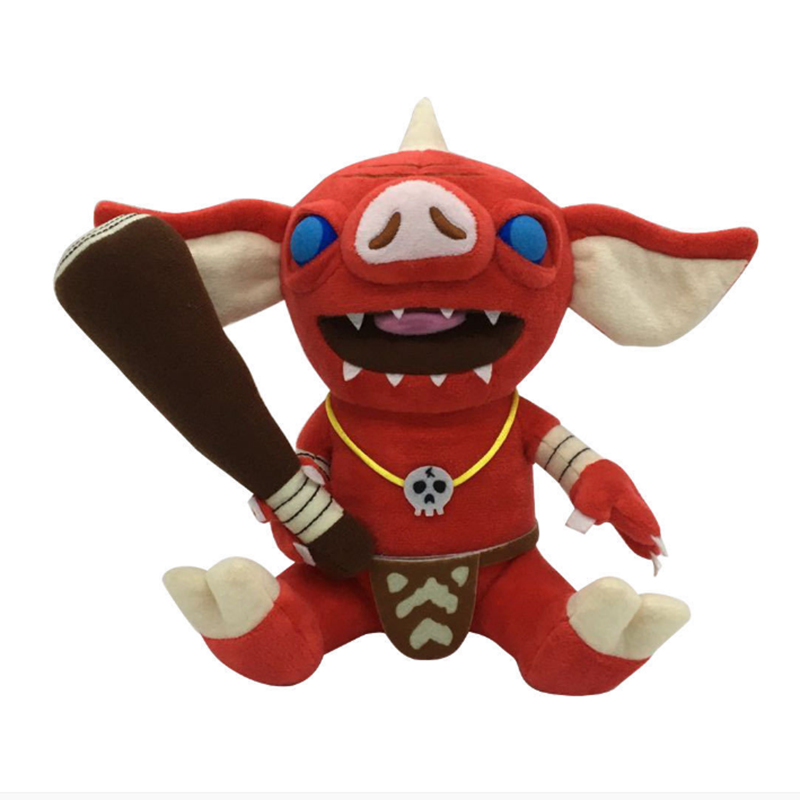 New The Legend Of Zelda Breath Of The Wild Bokoblin Stuffed Plush Doll Toy Children Christmas Gifts
