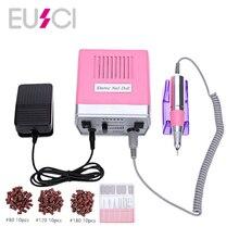 30000RPM Pro Electric Nail Drill Grinding Machine Equipment Manicure Pedicure Files Nail Art Drill Pen Machine Set Tools 35W