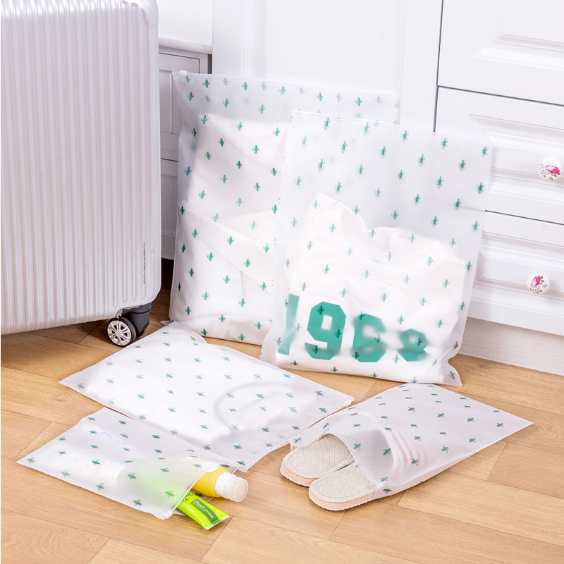 Cactus Organizers Travel Accessories PVC Luggage Clothes Classified Organizers Bags Packing Shoes Cosmetic Towel Pouch Case