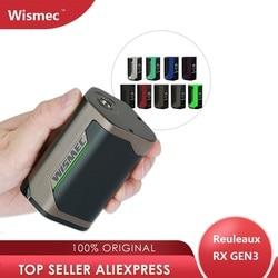 Original 300W WISMEC Reuleaux RX GEN3 TC Box MOD Max 300W No18650 Batterie Box Mod Riesige Power E -Cig Vape Mod Vs Drag 2/luxe mod
