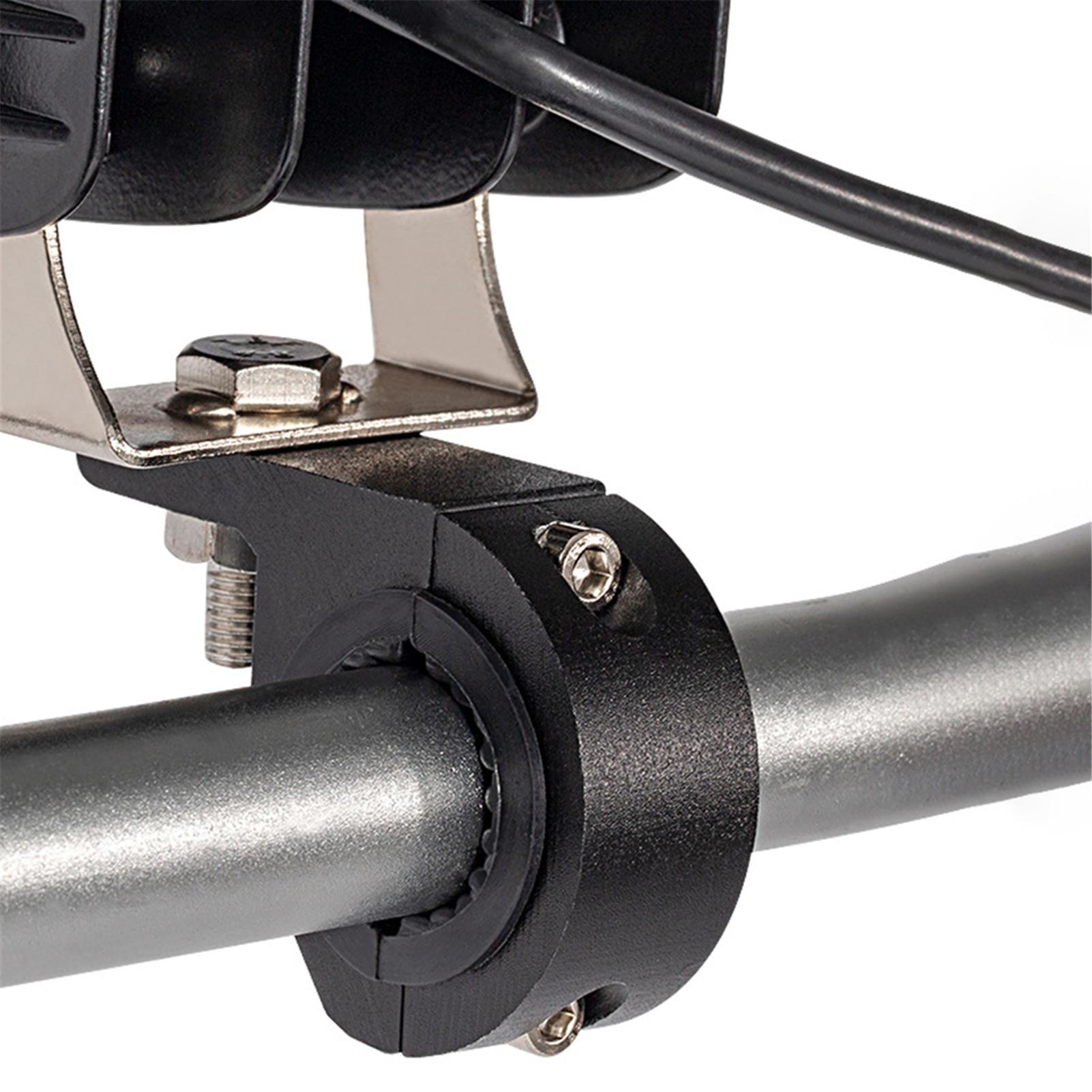 Kit de montage de pinces à Tube Anti-oxydation pour moto, support de barre lumineuse LED pour phare antibrouillard, accessoires de motocyclette
