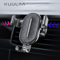Kuulaa suporte de celular para carro  suporte de gravidade para celular iphone samsung xiaomi