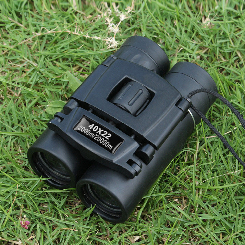 40x22 High Magnification HD Folding Telescope Portable Binoculars for Bird Watching Travelling Hunting Camping image