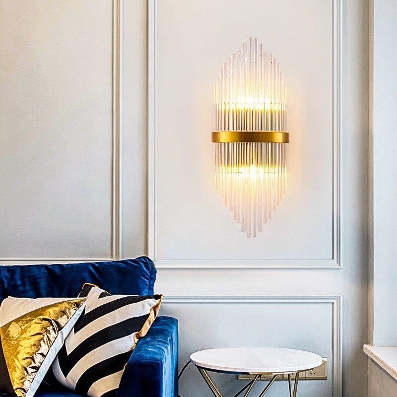 modern wall light rope bedside living room corridor bedroom lamp home deco
