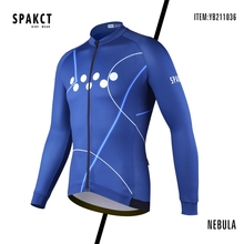 цена на SPAKCT Cycling Jersey Set Pro Team Spring/Summer Long Sleeve Men Cycling Jersey Bike Bicycle Clothing Wear Biking Shirts Road