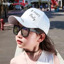 Hepburn Brand Summer Children Trucker Bone Hip Hop Hats Snapback Kids Baby Girl/Boy Baseball Outdoor Visor casquette Hat
