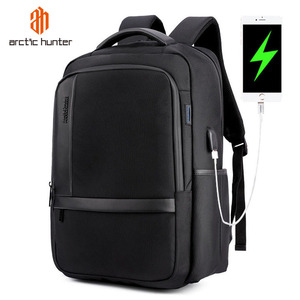 Image 1 - ARCTIC HUNTER Waterproof Men Laptop Backpack USB Charge School Backpack Large Capacity Mochila Casual Male Travel Bag