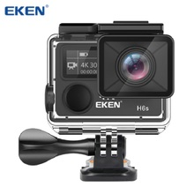 EKEN H6s Action Camera, Ultra 4K Wifi Sport Camera 30M Underwater Waterproof Camcorder with EIS Image Stabilization
