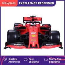 BBURAGO 2019 Феррари F1 формула гоночный автомобиль Sf90 1: 18 Модель брелок для автомобильных ключей, модель красного цвета игрушечный автомобиль дл...