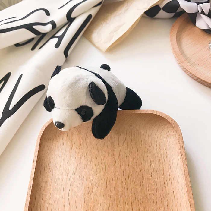 Kartun Panda Dinosaurus Bebek Lucu Pin untuk Ransel DIY Buah Kawaii Pins Lencana Kerah Pakaian Natal Mewah Bros Kerah Pin