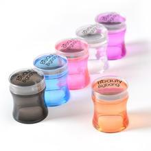BeautyBigBang Stampatore Del Chiodo di Plastica Manico In Silicone Della Gelatina Nail Stamper Manicure Stamp Template Strumenti Timbro per la Stampa A Unghie artistiche