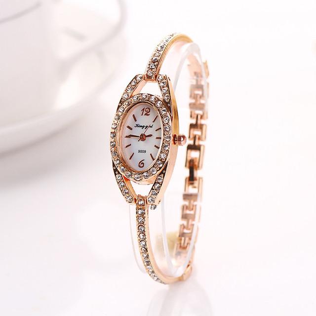 DUOBLA Women's Analog Quartz, Top Brand, Luxury Fashion Wristwatches