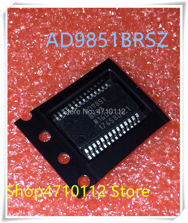 NEW 1PCS/LOT AD9851BRSZ  AD9851 BRSZ 9851BRSZ SSOP-28 IC