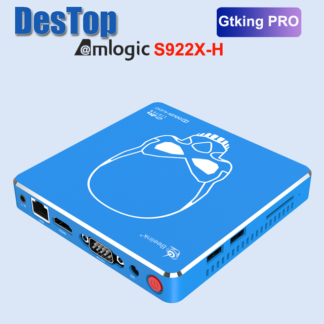 Beelink-TV Box gt-king Pro con sonido Dolby, Audio Hi-Fi sin pérdidas, Dts, con Amlogic S922X-H, Android 9,0, 4GB, 64GB
