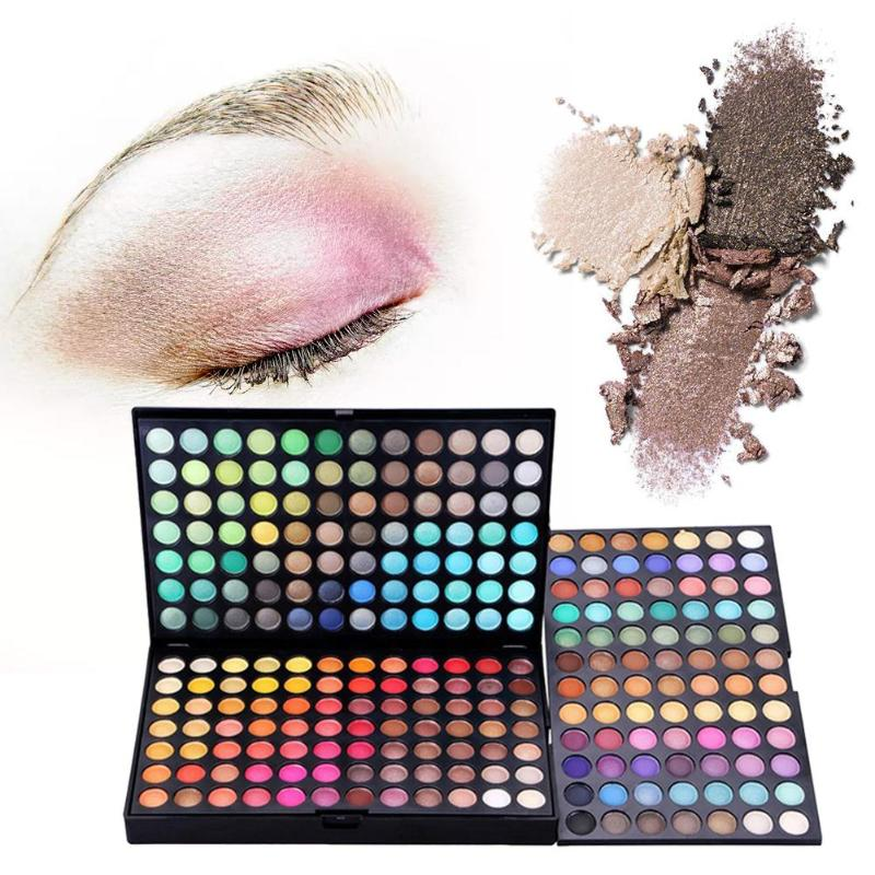 252 Colors Eyeshadow Palette Shimmer Matte Glitter Eye Shadow Pigment Pallet Rich In Colour Long Lasting Makeup Cosmetic Set