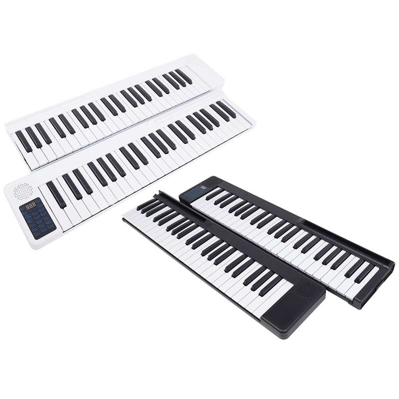 Piano-Instruments Keyboard Electronic-Piano Folding Portable And for 88 Key-Splicing
