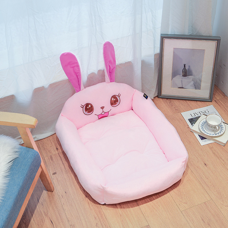 Dog bed Removable And Washable Teddy Cartoon Pet Nest Pet Ssupplies Large dog Golden Dog Bed Mat Pet Accessories 10