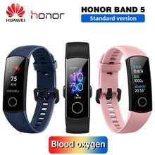 Смарт браслет Huawei Honor Band 5 с оксиметром, пульсометром и сенсорным экраном