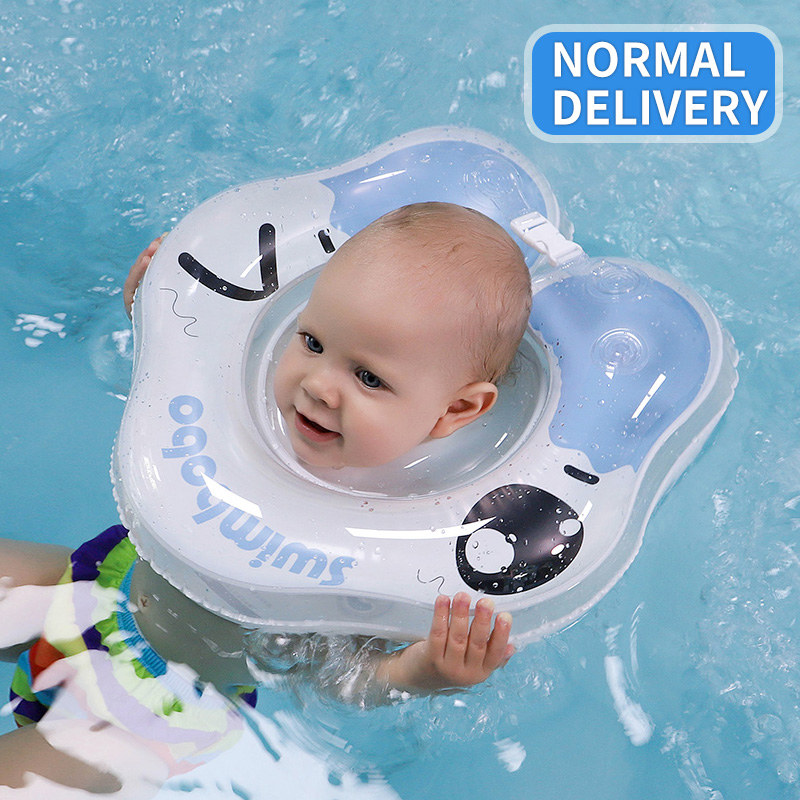 Inflatable Circle Swimming Neck Ring Infant Swimming Accessories Swim Neck Baby Tube Ring Safety Neck Float Circle Bathing Buoy