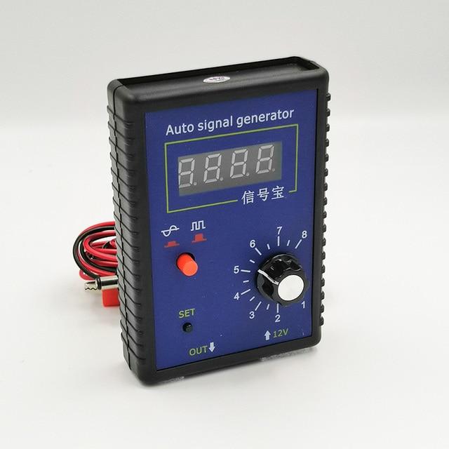 Generador de señal portátil para coche Sensor de posición de cigüeñal, simulador de señal, 2Hz a 8KHz