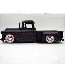 1:24 сплав модель автомобиля, 1955 Chevrolet пикап грузовик сплава Модель автомобиля, съемные шины, дверь openable игрушечный автомобиль