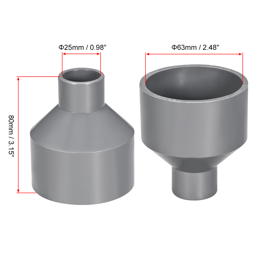 Pipe Fittings Joiner Connector Tee Peice Air Fuel 4mm PLASTIC T PIECE