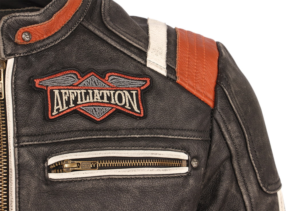 H4a4d017397fd443bacca7b4db9bffdebK Vintage Embroidery Skulls Motorcycle Leather Jacket 100% Real Cowhide Moto Jacket Biker Leather Coat Winter Motor Clothing M220