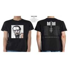 Official LICENSED-Marilyn Manson-Sky Upside Down Winter Tour T-Shirt- show original title T-Shirt Casual Man Tees