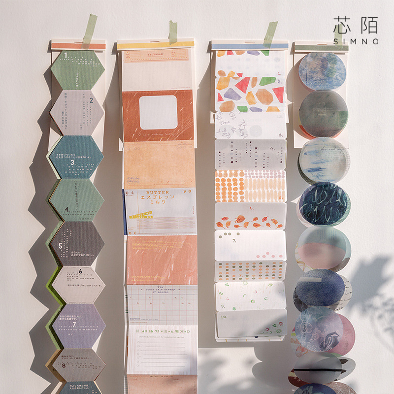 1 Set/lot Memo Pads Sticky Notes Sunny Shard Paper Notepad Daliy Scrapbooking Stickers Office School Stationery