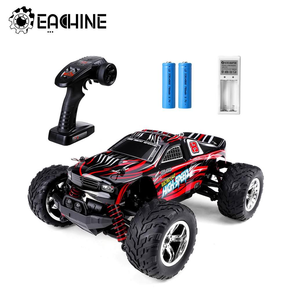 EACHINE EC09 1:20 2.4GHz RC Drift Car High Speed 40+ MPH 4WD Off Road Monster All Terrain Toys Autos Trucks For Childrens