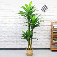 artificial bonsai trees 180cm iron Brazilian wood trees Indoor fake trees greenery artificial plants potted plants faux plants