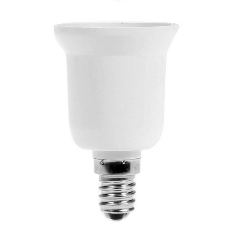 1pcs <font><b>E12</b></font> to E27 <font><b>Socket</b></font> Converter Light Bulb Lamp Holder Adapter Plug Extender Lampholder image