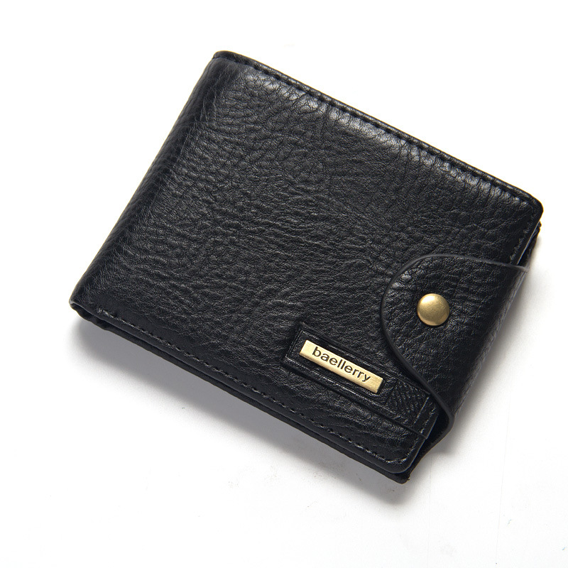 New Brand High Quality Short Men's Wallet , Leather Qualitty Guarantee Purse For Male,coin Purse Rifd Wallet Cartera Hombre