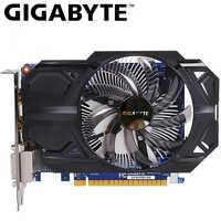 GIGABYTE Scheda Video GTX 750 Ti 2GB GDDR5 128 Bit con NVIDIA GeForce gtx 750 ti GPU della Scheda grafica per PC Hdmi Dvi Utilizzato Le Schede VGA