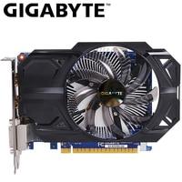 GIGABYTE Video Card GTX 750 Ti 2GB GDDR5 128 Bit with NVIDIA GeForce gtx 750 ti GPU Graphics Card for PC Hdmi Dvi Used VGA Cards