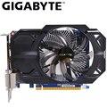 GIGABYTE Video Karte GTX 750 Ti 2GB GDDR5 128 Bit mit NVIDIA GeForce gtx 750 ti GPU Grafikkarte für PC Hdmi Dvi Verwendet VGA Karten