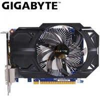 Karta graficzna GIGABYTE GTX 750 Ti 2GB GDDR5 128 Bit z kartą graficzną nvidia geforce gtx 750 ti GPU na PC Hdmi Dvi używane karty VGA