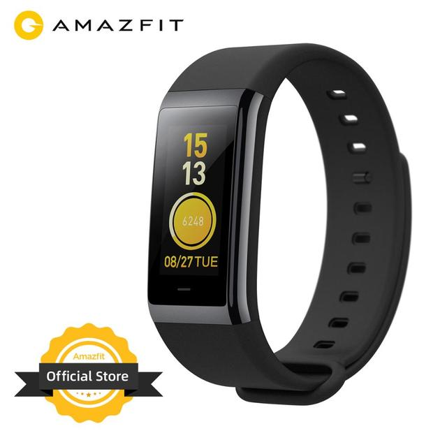 Amazfit Cor /  Band 2 Smart Wrist Band Waterproof 5ATM Music Control 1.23 inch LCD Display Sleep Monitoring Ceramic Bezel