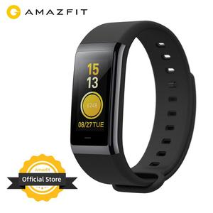 Amazfit Cor Smart Wrist Band Waterproof 5ATM Music Control 1.23 inch LCD Display Sleep Monitoring Ceramic Bezel