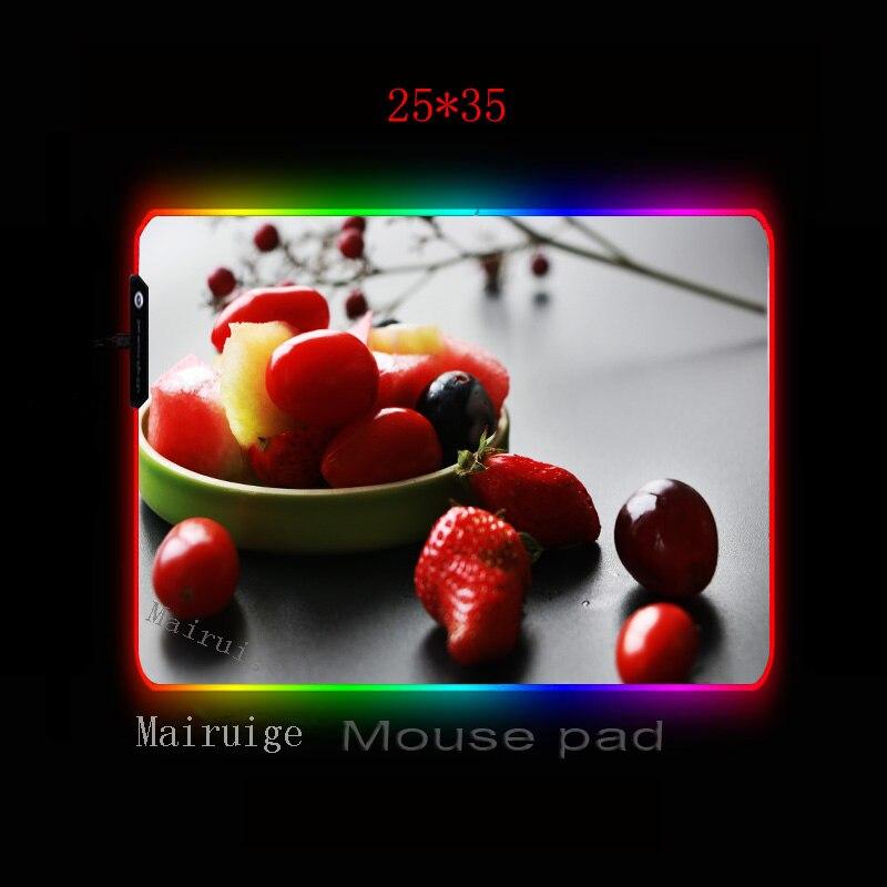 Купить mairuige красный фрукты клубника фиолетовый виноград rgb компьютерный