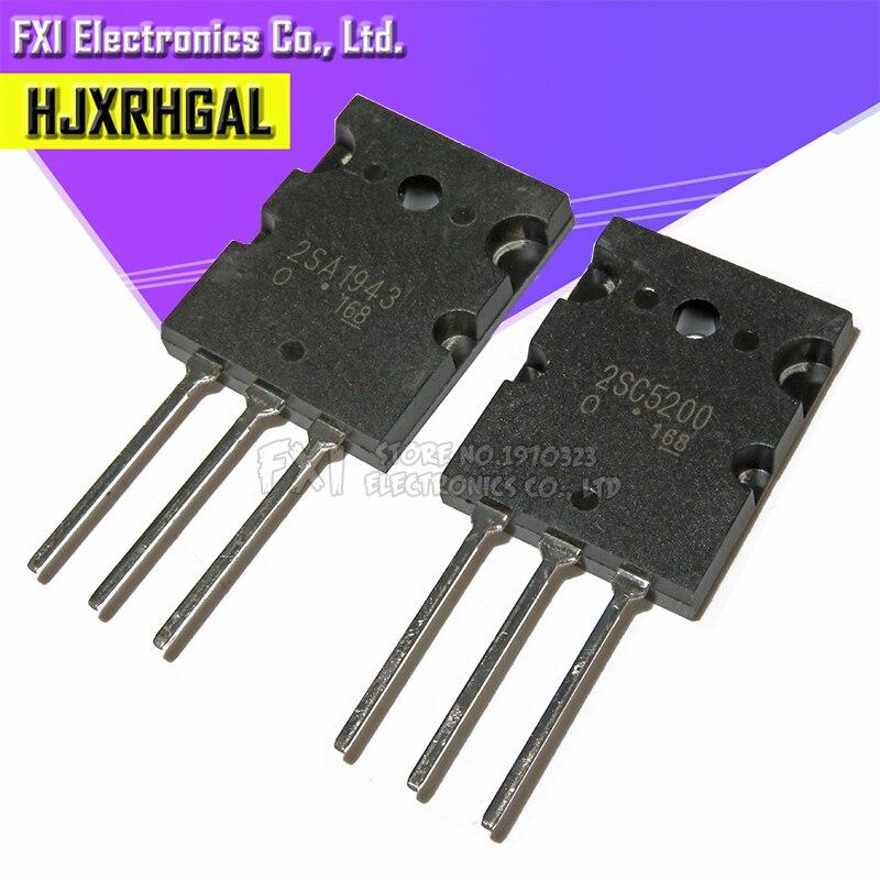 6pcs 2SA1943 2SC5200 =3pair ( 3pcs C5200 + 3pcs A1943 )