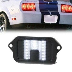 1pc Auto Parts LED License Pla